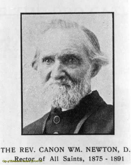 thumbCanon William Newton circa 1886